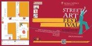 vedi il programma della manifestazione - Comune di Roma