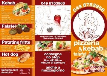 MENU - Il Magico Kebab & Pizza