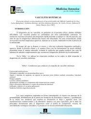 VASCULITIS SISTEMICAS - IntraMed