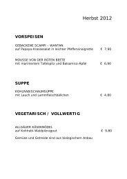 Speisekarte Saison [pdf] - Gasthof Rauch