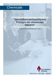 Pricing Projekte in der chemischen Industrie ... - Homburg & Partner