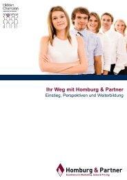 Ihr Weg mit Homburg &  Partner