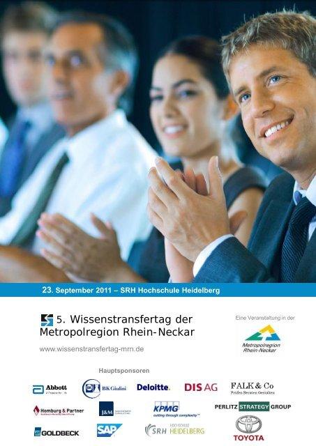 23. September 2011 – SRH Hochschule ... - Homburg & Partner