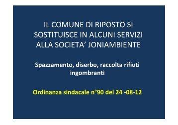 continua... - Carmelo Spitaleri Sindaco