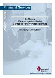 Leitlinien für eine systematische Marketing- und Vertriebsplanung