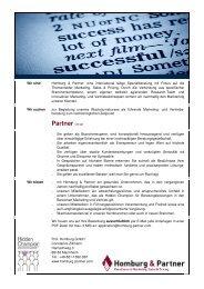 Partner (m/w) - Homburg & Partner