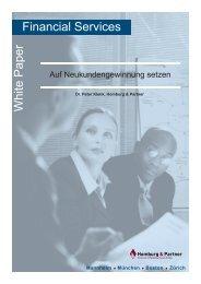 Zu Recht wird immer wieder die Notwendigkeit ... - Homburg & Partner