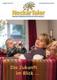 Die Zukunft im Blick … - Volksbank Neckartal eG