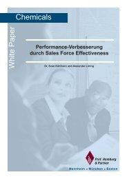 Performance-Verbesserung durch Sales Force ... - Homburg & Partner