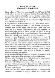 BIANCA CHILOVI (5 agosto 1909- 8 luglio 1934 ... - Belle notizie