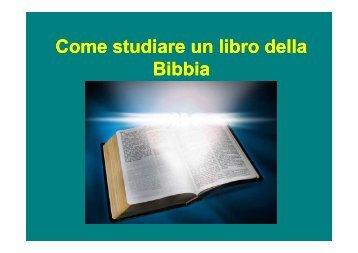 Come studiare un libro della Bibbia - innamorato di gesu
