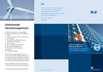 Flyer erneuerbare Energien - VR-Bank Aalen eG