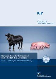 Broschüre Ertragsschadenversicherung - VR-Bank Aalen eG