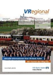 Ausgabe 3 - VR-Bank Aalen eG