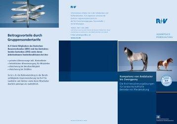 Flyer Pferdehaltung - VR-Bank Aalen eG