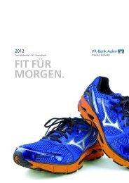 Geschäftsbericht 2012 der VR-Bank Aalen eG (PDF/2,3 MB)