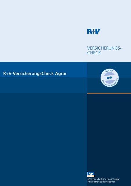 VersicherungsCheck Agrar - VR-Bank Aalen eG