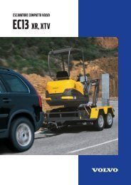 EC13 XR, XTV - Volvo Construction Equipment