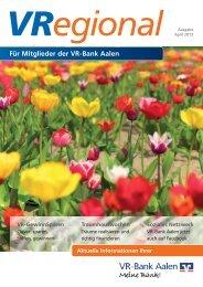 Ausgabe 5 - VR-Bank Aalen eG
