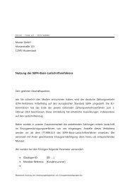 Musterbrief Nutzung der Umdeutungsmöglichkeit ... - VR-Bank Alb eG