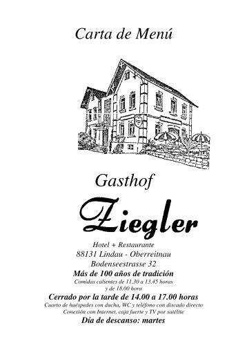 """Dulces caseros y helados de """"Schöller"""" - Hotel-Gasthof Ziegler"""