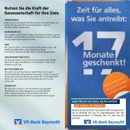 Teilnahmekarte Gewinnspiel (PDF) - VR-Bank Bayreuth