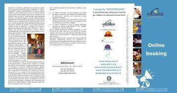 Online booking - Adiconsum