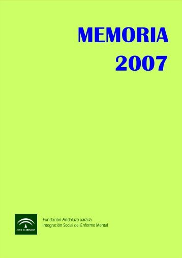 Acceso la Memoria 2007 (pdf tamaño 388 KB) - Faisem