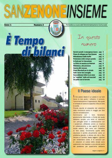 Anno 1 - N. 2 - Comune di San Zenone al Lambro