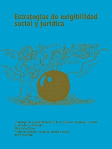 estrategias de exigibilidad social y jurídica - ILSA