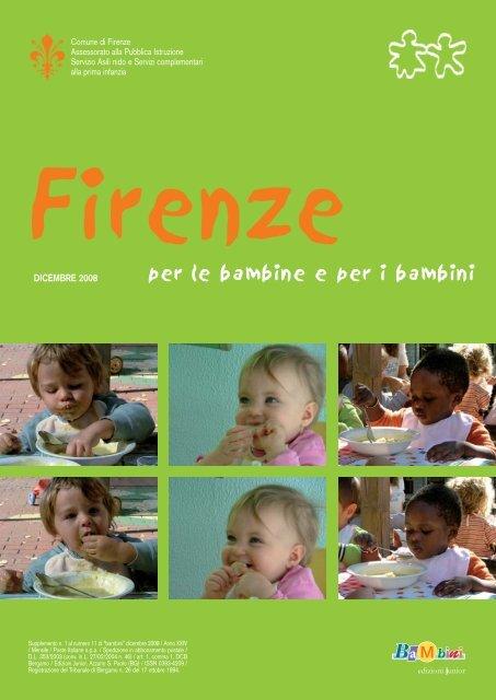 per le bambine e per i bambini - Educazione - Comune di Firenze
