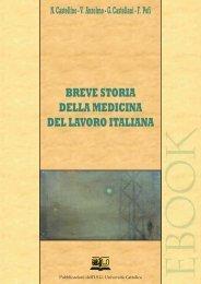 breve storia della medicina del lavoro italiana - EDUCatt