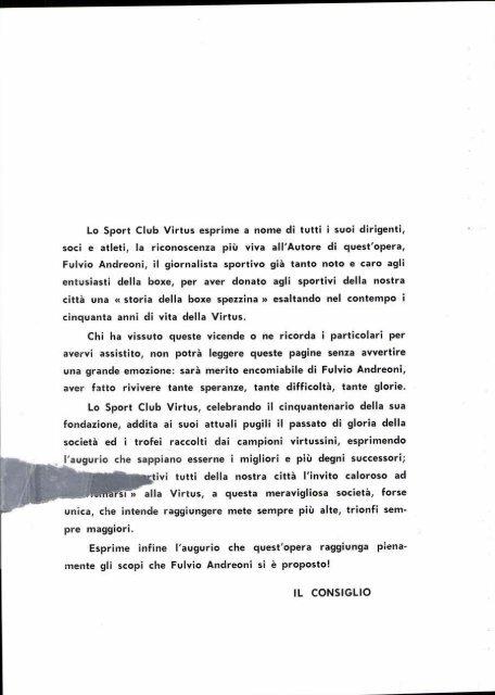 storia della boxe spezzina - Unvsliguria.it