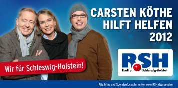 carsten köthe hilft helfen 2012 - VR Bank Flensburg-Schleswig eG