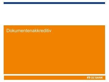 Dokumentenakkreditiv - Volksbank Remseck eG