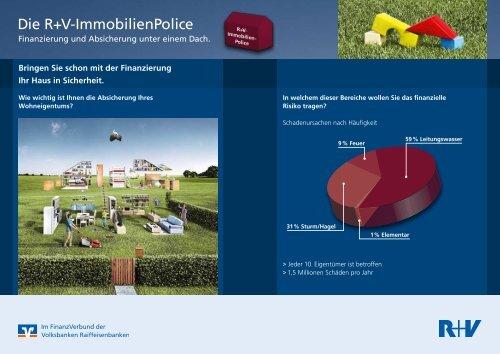 Die R+V-ImmobilienPolice - Volksbank Remseck eG