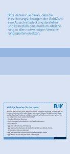 auch zu den Versicherungsleistungen der GoldCard. - VR-Bank Mainz - Page 3