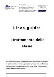 Guidelines italiano (pdf) - Schweizerische Arbeitsgemeinschaft für ...