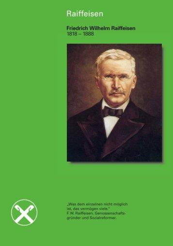 Friedrich Wilhelm Raiffeisen - Der DRV