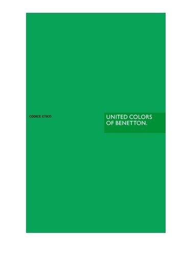Scarica il Codice Etico - Benetton Group