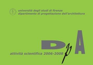 dipartimento di progettazione dell'architettura