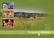 öffnen der einfachen pdf Ansicht 2,1 MB - Landgasthof Hubertus