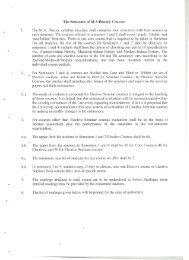 Course Details - University of Delhi