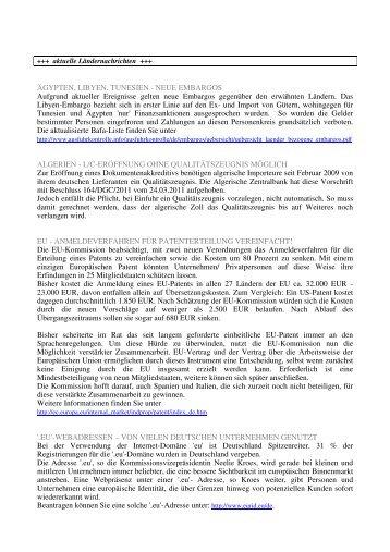 Newsletter Mai 2011 (PDF) - Volksbank eG, Syke