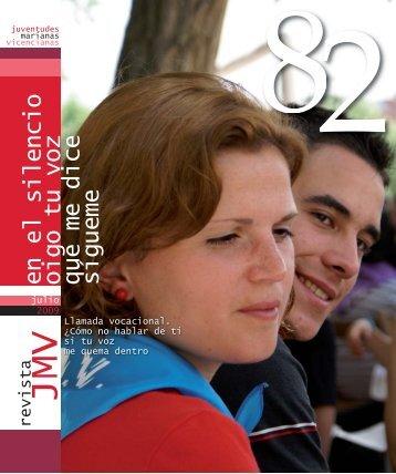 REVISTA 82:Maquetación 1.qxd - Juventudes Marianas Vicencianas