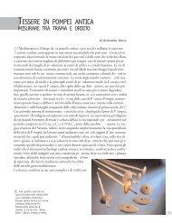 TESSERE IN POMPEI ANTICA - La scuola di Pitagora editrice