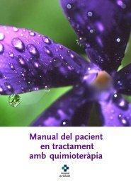 Manual del pacient en tractament amb quimioteràpia