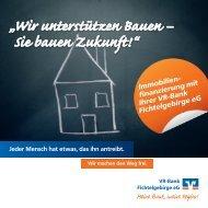 Broschüre Immobilienfinanzierung herunterladen (pdf, 7,20 MB)