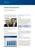 Geschäftsbericht 2010 - Volksbank Wittgenstein eG - Page 3