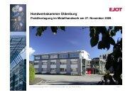 Tiefenanschlag - Handwerkskammer Flensburg